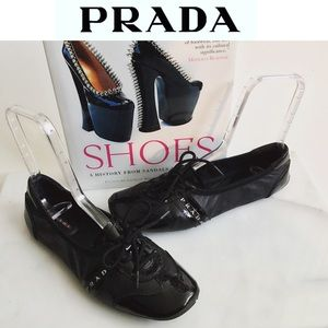 Authentic PRADA Ballet Sneakers Size 38
